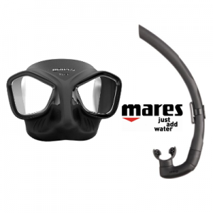 Cliff Etzel freedives with Mares Viper Mask & Snorkel